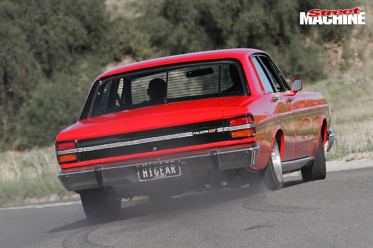 Ford -falcon -xy -onroad -rear