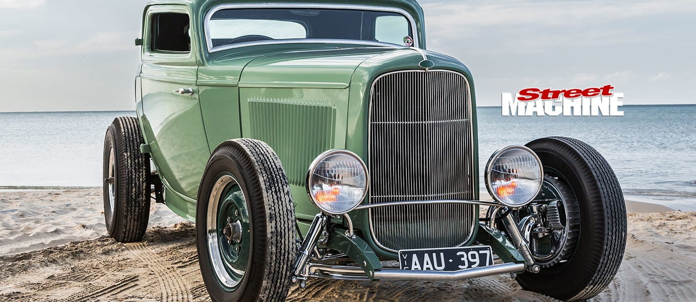 ford five window coupe front nw
