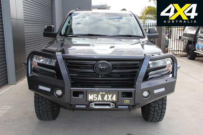 MSA 4 X 4 Custom Toyota LC 200 6 X 6 Project Super Crusier Front Jpg