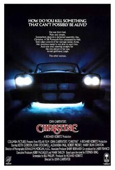 Christine 1983 Movie Poster