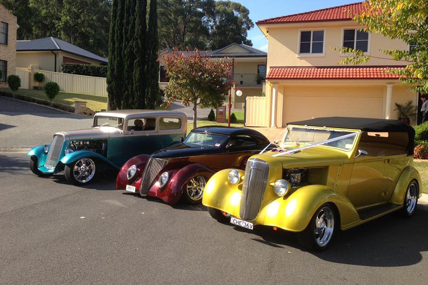 Glenn Whittingham wedding cars