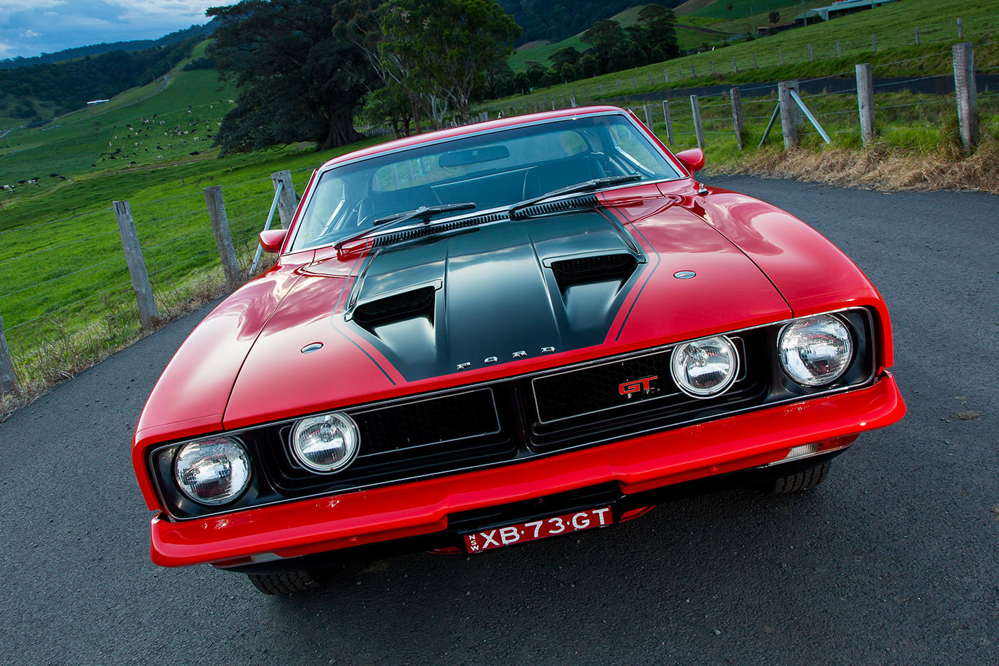 Ford Falcon XB GT hardtop front