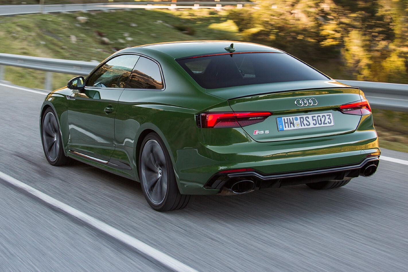 2017 Audi RS5 rear