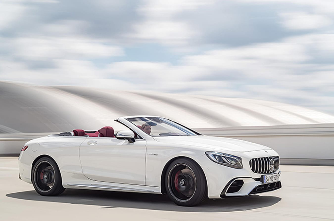 2018 AMG S Class Cabriolet