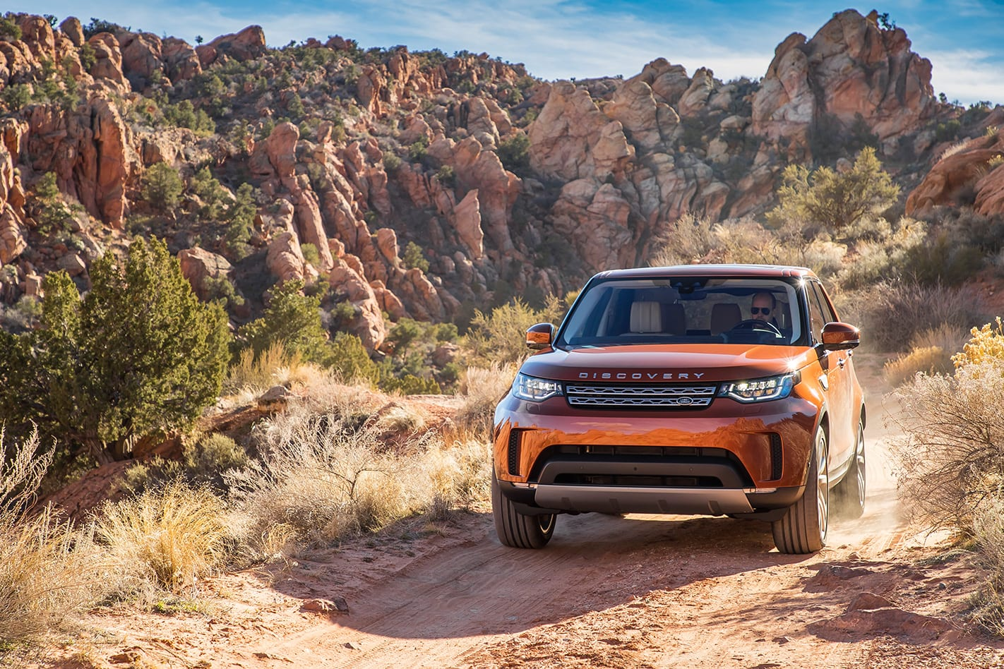 2017 Land Rover Discovery front