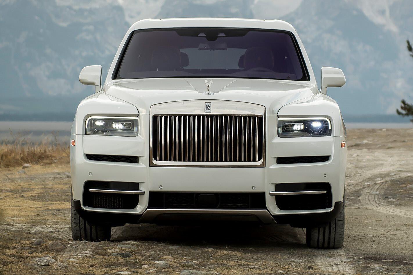 Rolls Royce Cullinan Front On Jpg
