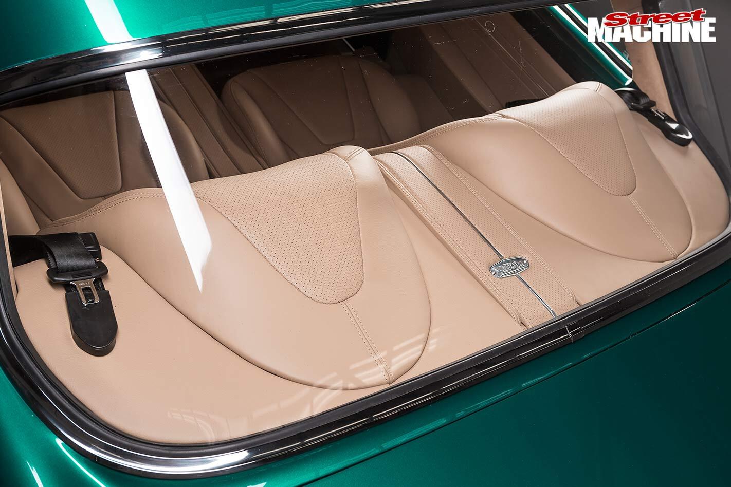 Holden FB interior