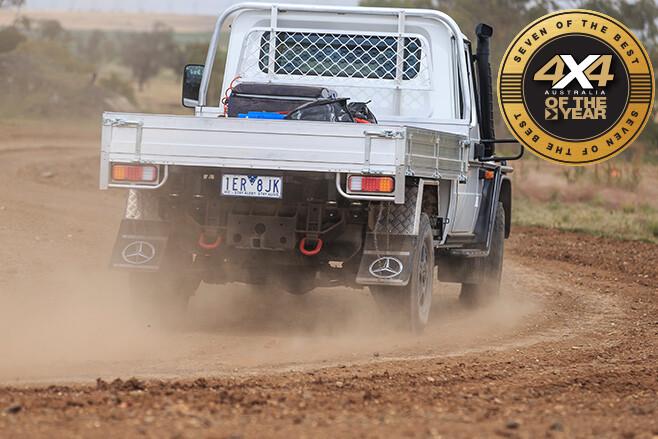 Merc G300 rear