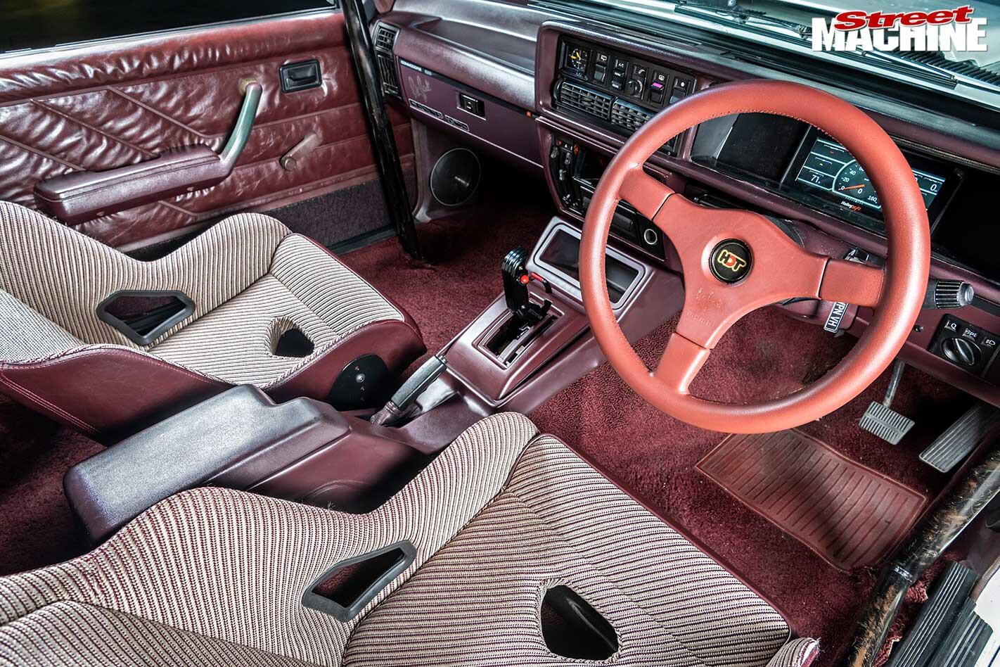 Holden VH Commodore interior