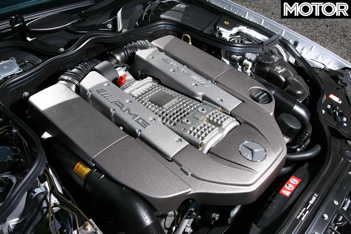 2004 Mercedes Benz E 55 AMG Estate Engine Jpg