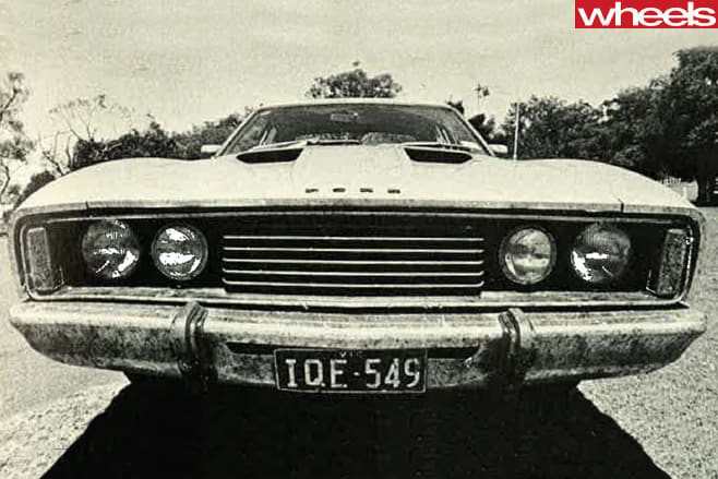 1977-Ford -Falcon -XC-grille