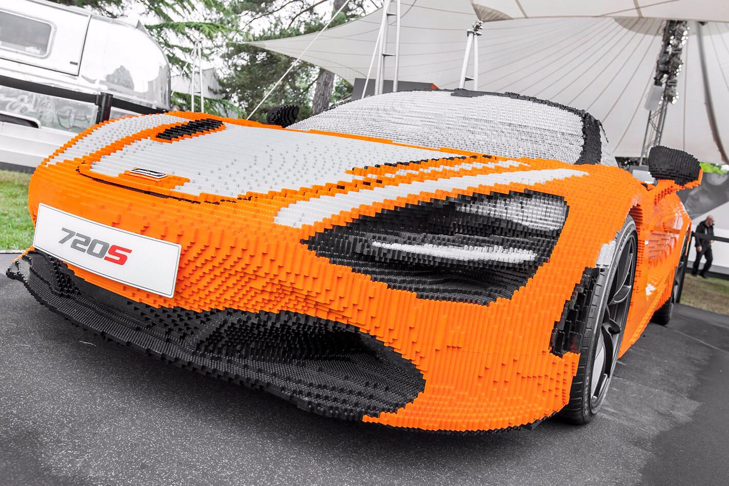 Life sized LEGO McLaren 720S