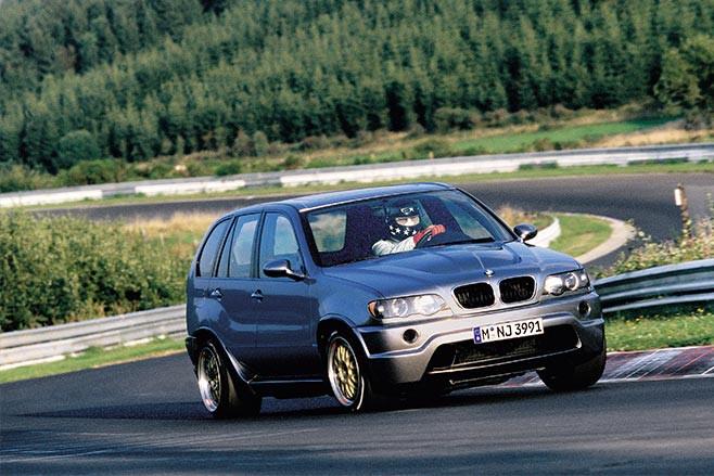 BMW X5 LeMans V12 Nurburgring
