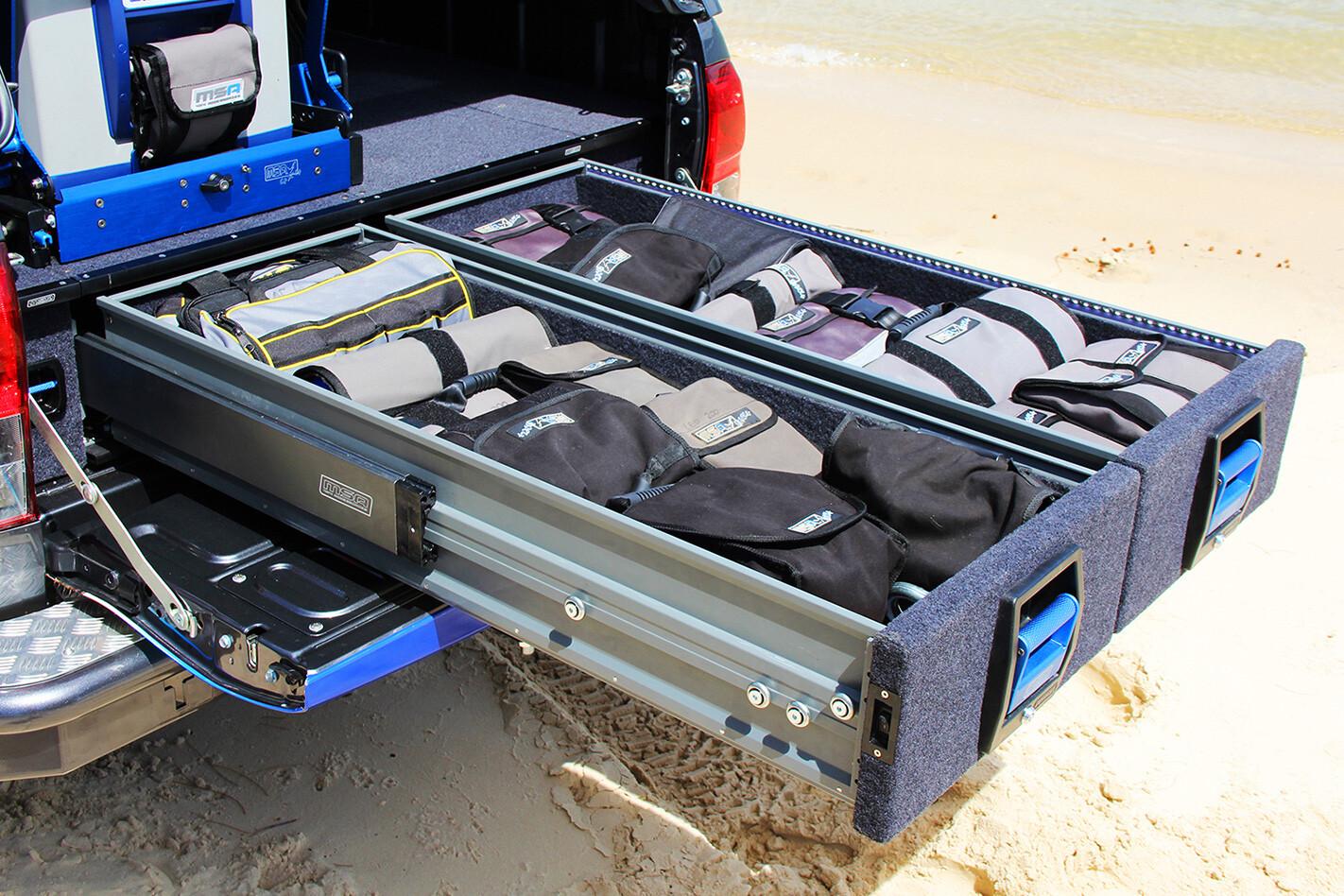 MSA drawer system