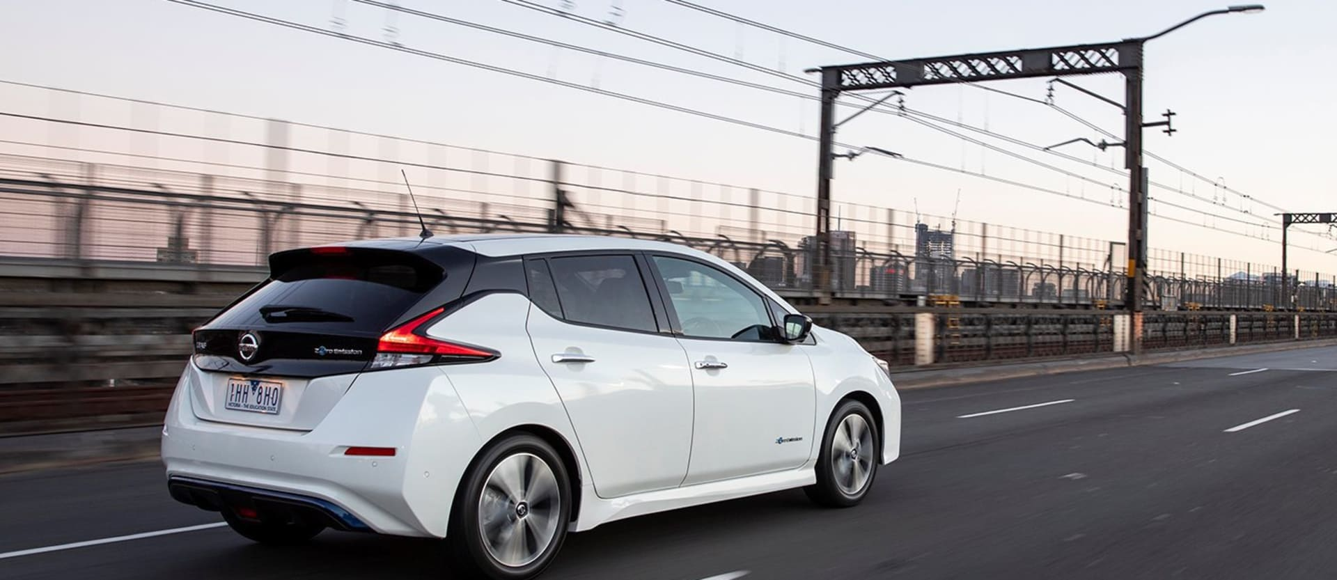 Nissan Leaf commute