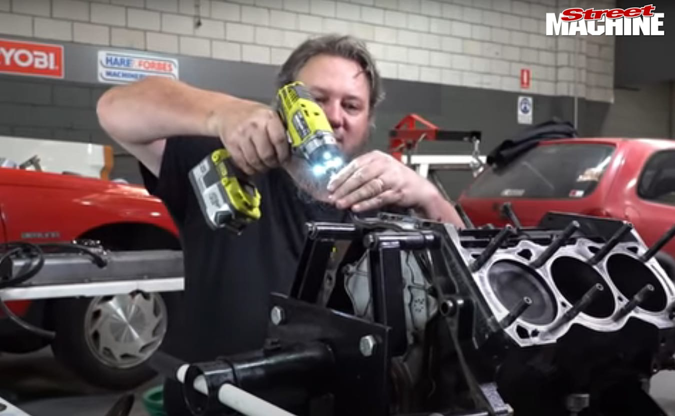 Project Supermang engine swap