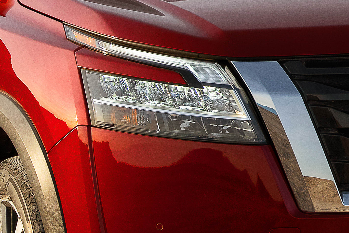 Nissan Pathfinder lighting