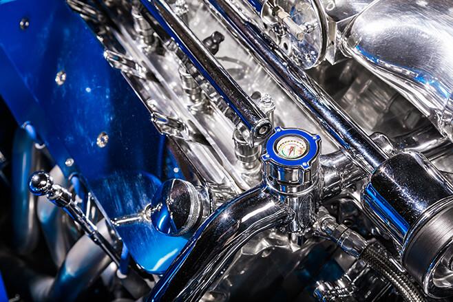 FINEVY Holden ute engine