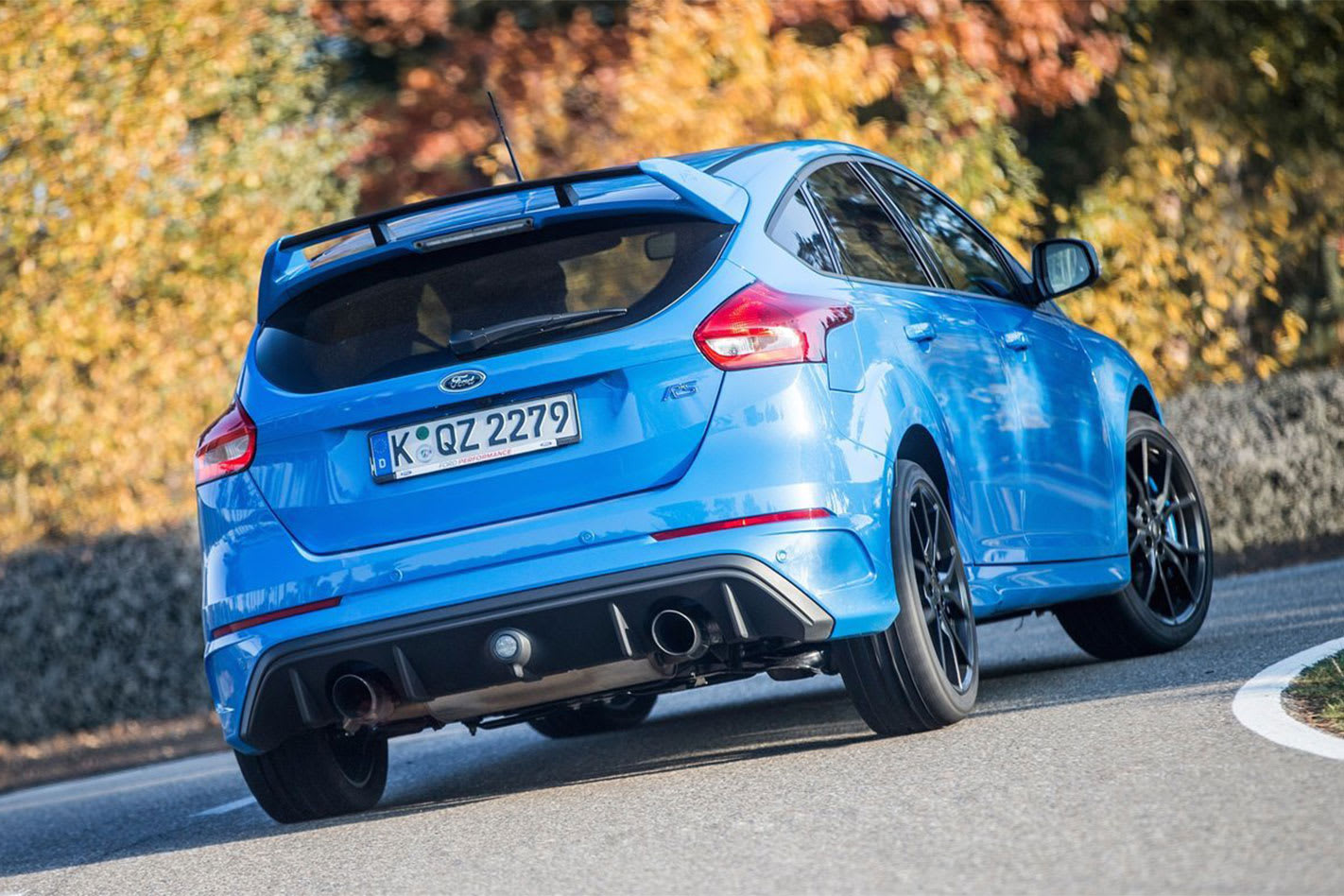 Hotter -Ford -Focus -planned -rear