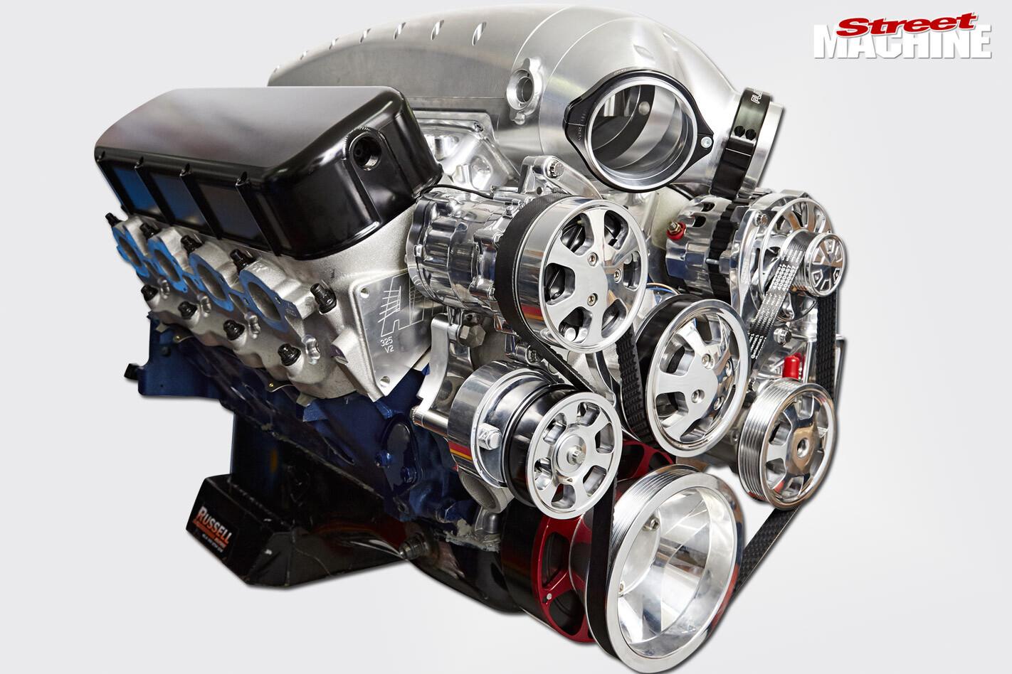 big block chev engine