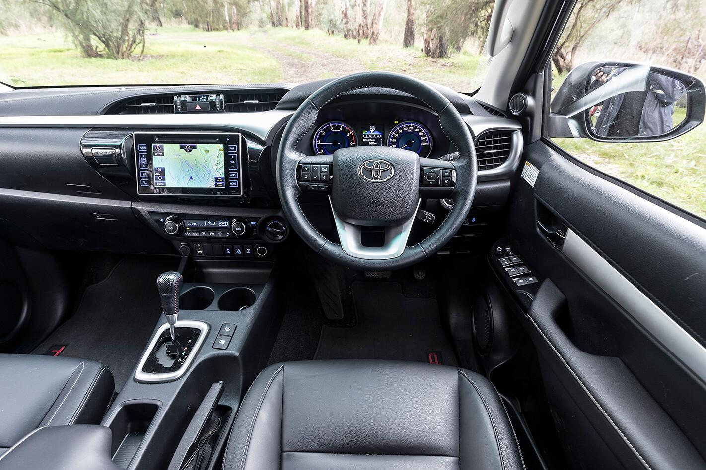Toyota Hilux TRD interior.jpg