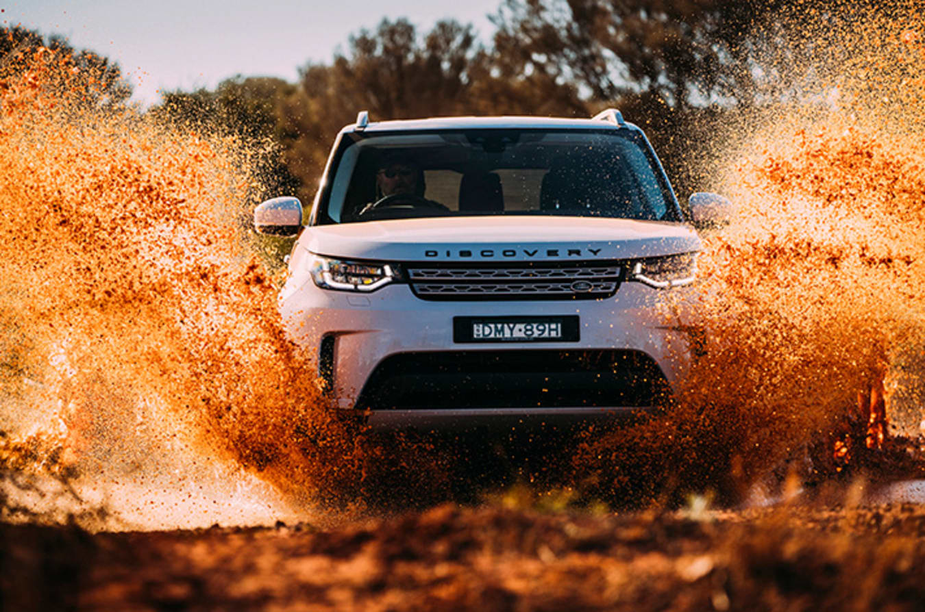 Land Rover Discovery 5 Front Jpg
