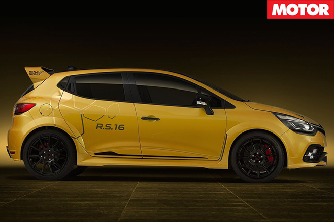 Renault Clio RS16 Concept side