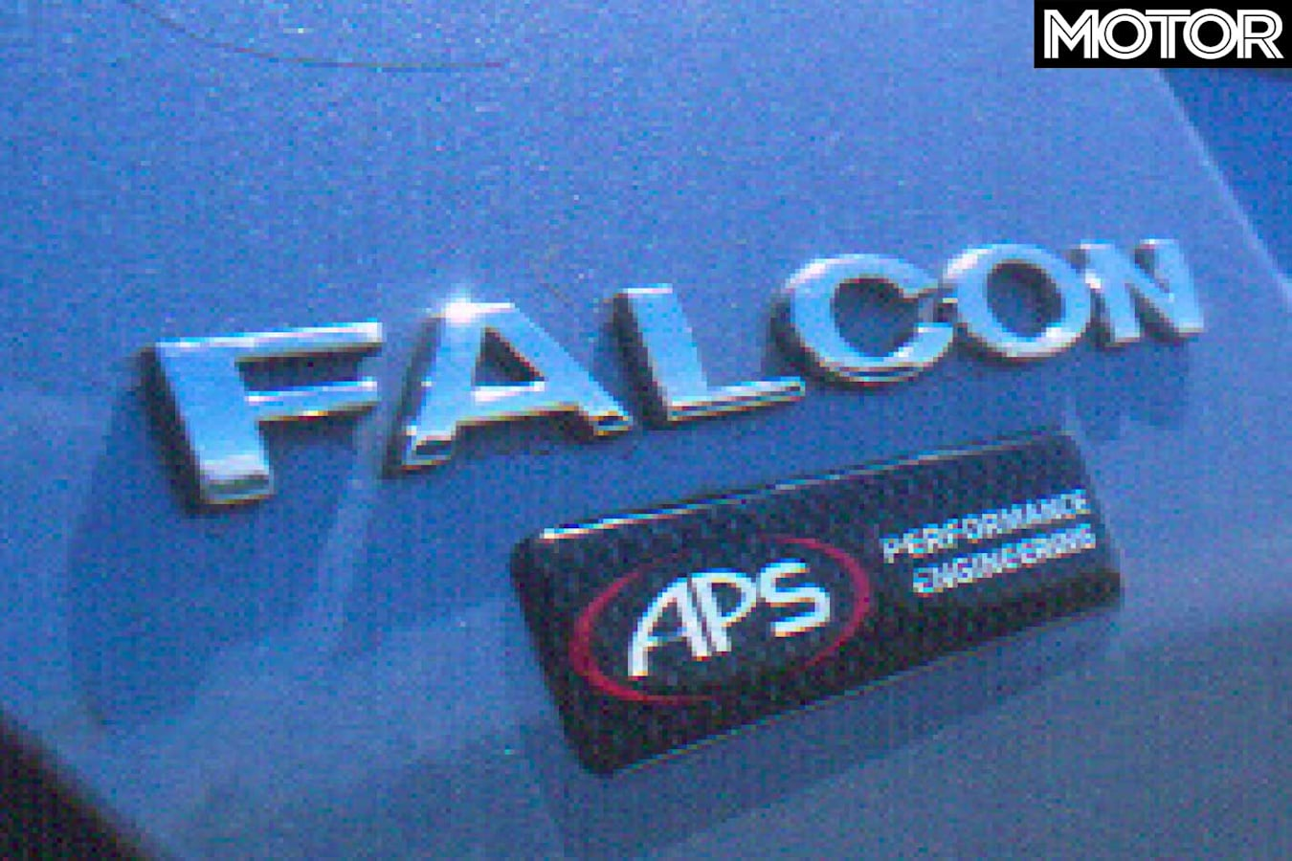 2004 APS Falcon Phase III XR 6 T Badge Jpg