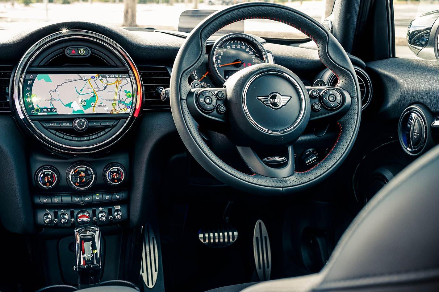 Mini Cooper S dash