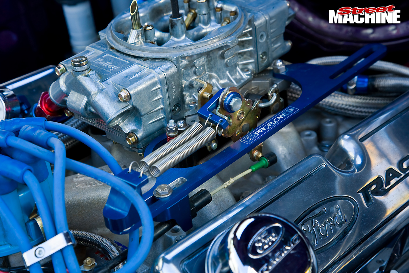Ford -cortina -engine -detail