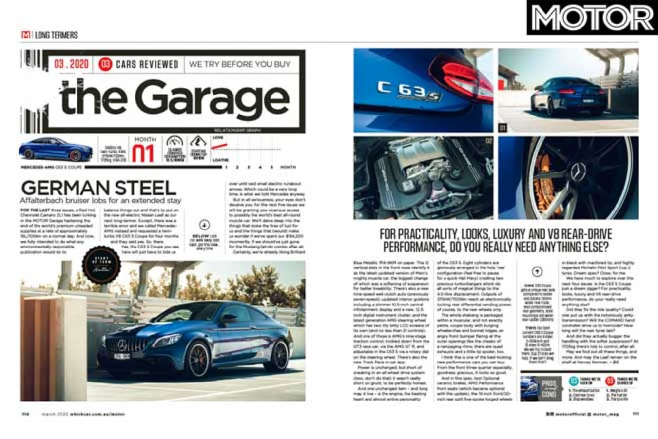 MOTOR Magazine March 2020 Issue Long Term Review Jpg