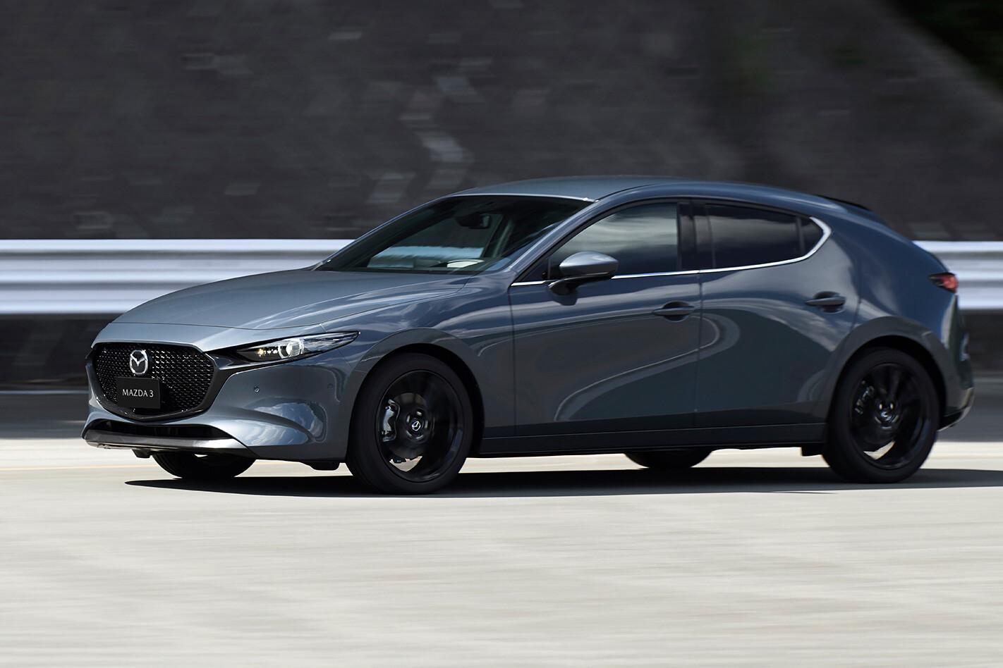 Mazda 3 Driving Jpg