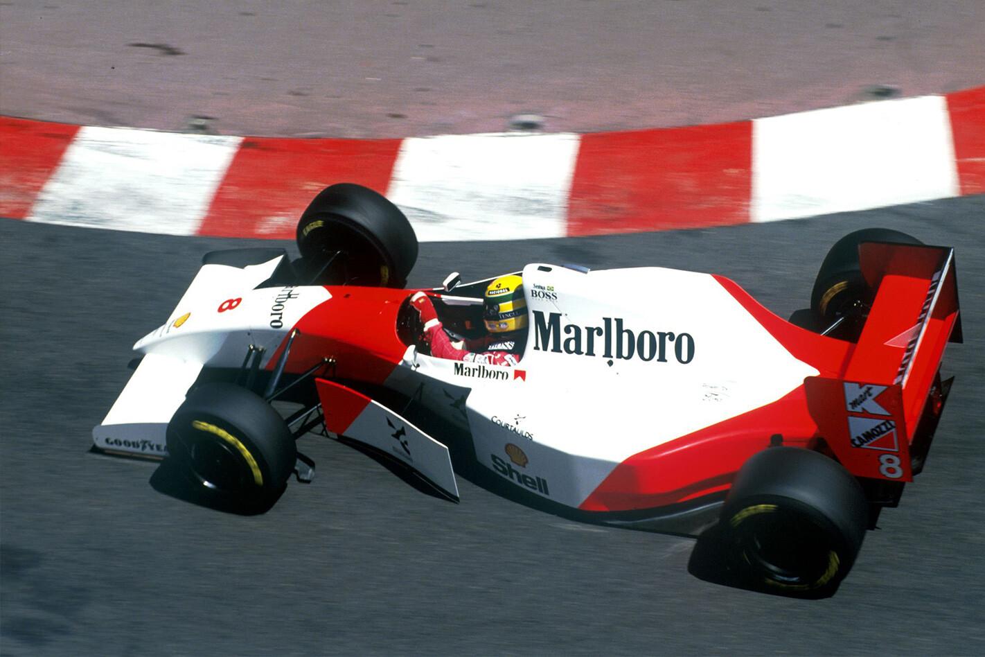 Ayrton Senna F 1 Cars For Sale Rear 1993 Monaco Jpg
