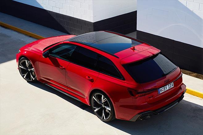 2020 Audi RS6 Avant top