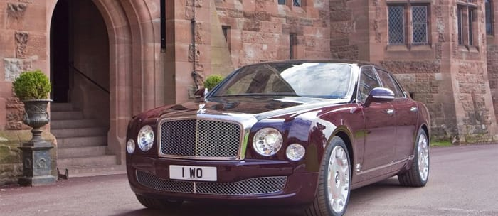 Bentley celebrates 60 years of the Queen with Mulsanne Diamond Jubilee