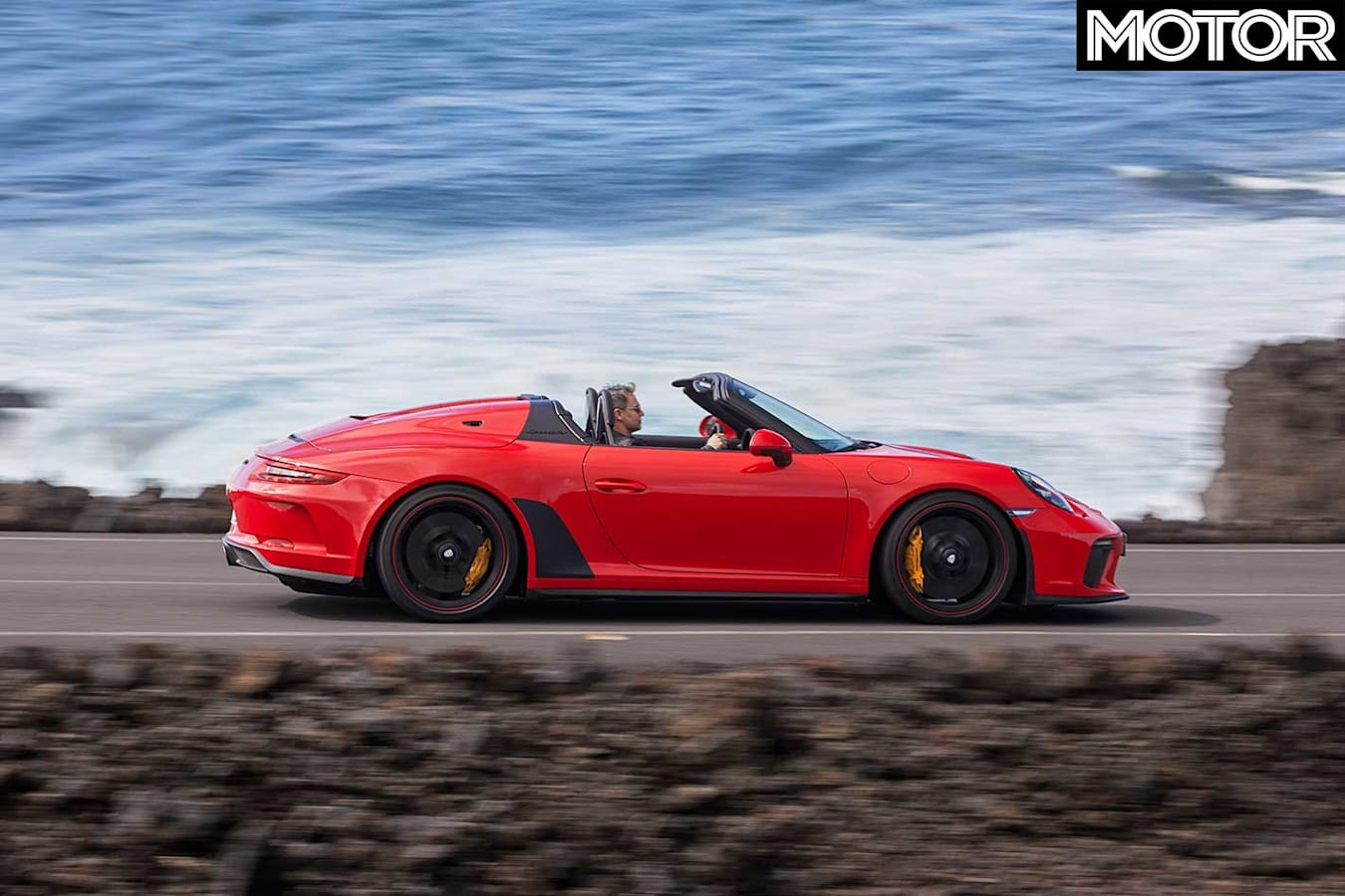 2019 Porsche 911 Speedster Side Profile Jpg