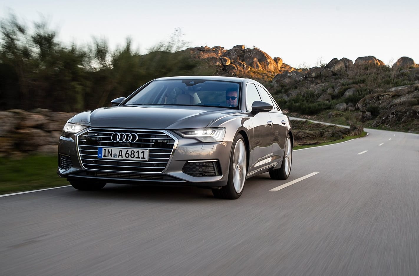 Audi A 6 Front Tracking Jpg