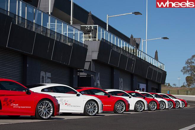 Audi -R8-side -at -Mount -Panarama
