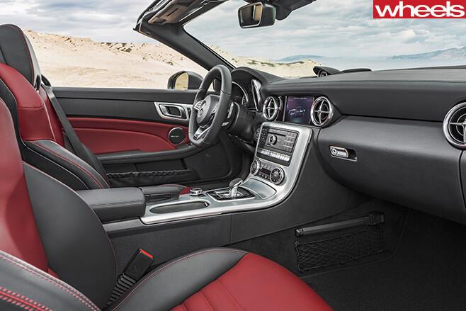 Mercedes -Benz -SLC-interior