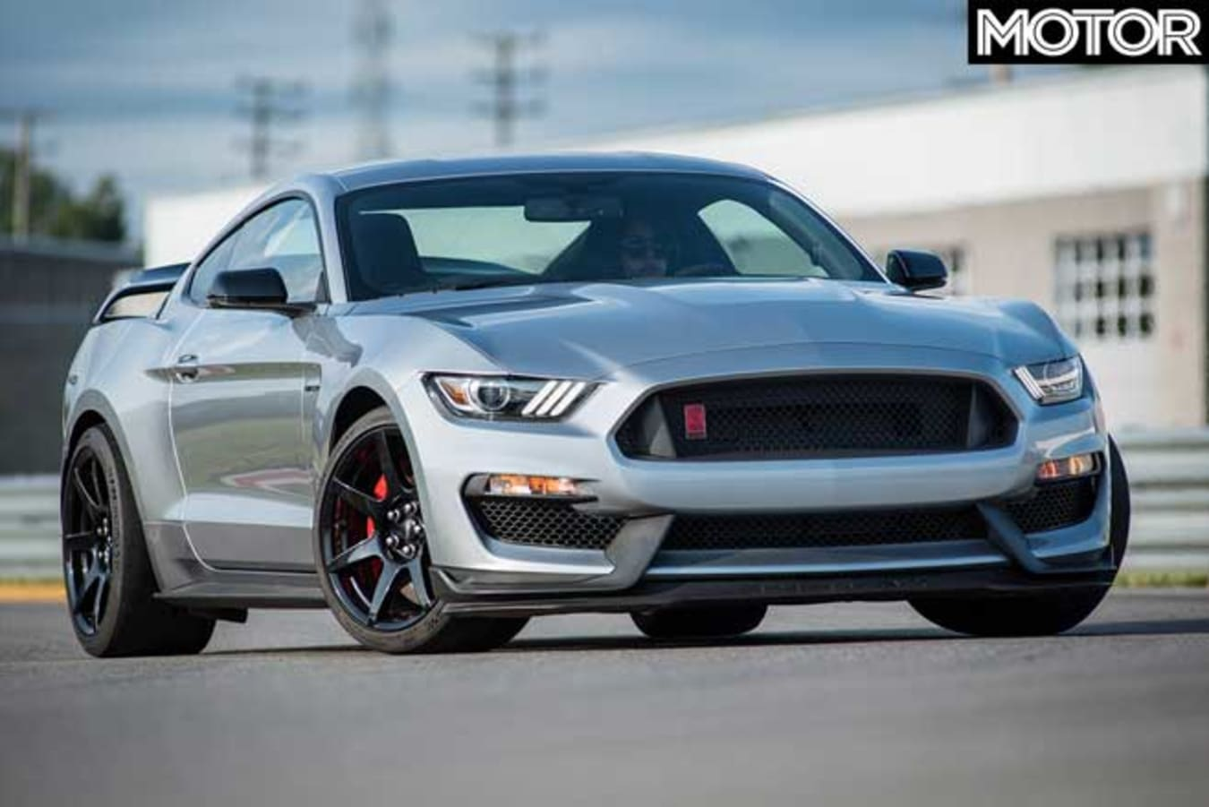 Updated Ford Mustang GT 350 R Front Jpg