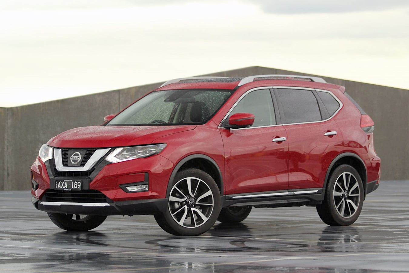 2019 Nissan X Trail Ti LT Review Front Side Static Jpg