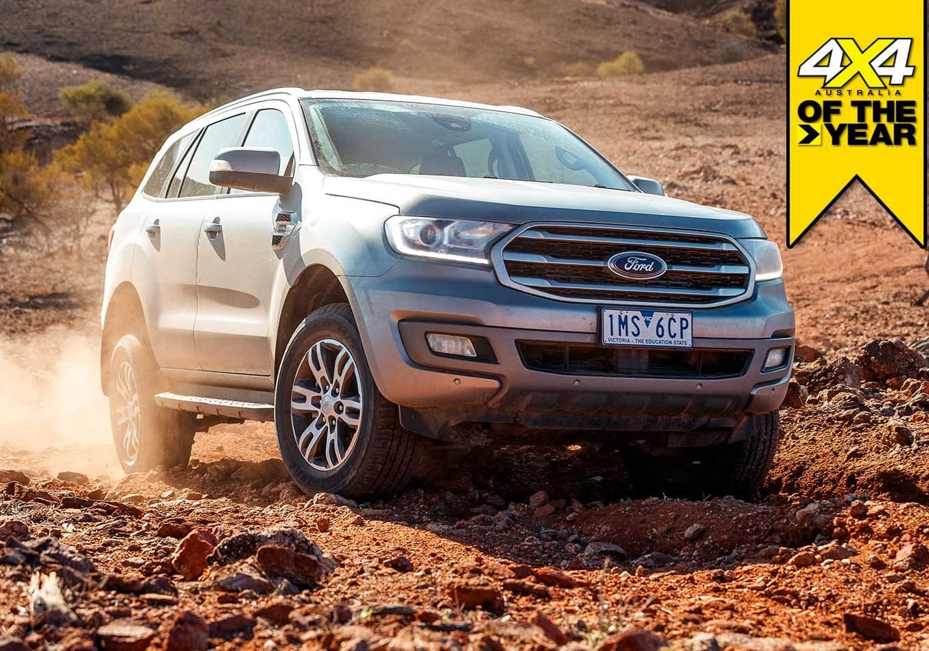 Ford Everest Trend 2019 4x4 of the Year contender