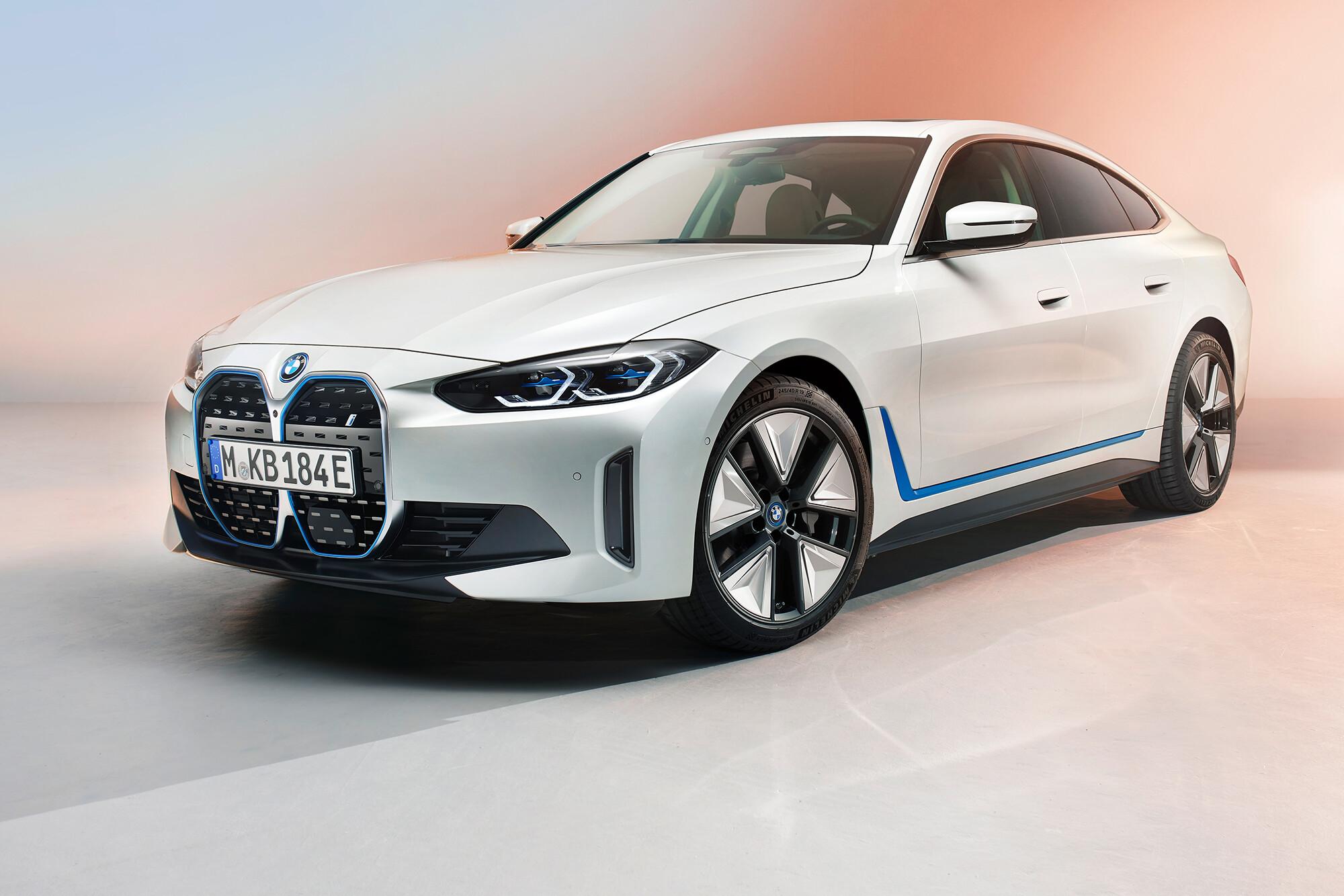 2022 Bmw I 4 Electric Car Revealed 1 Jpg