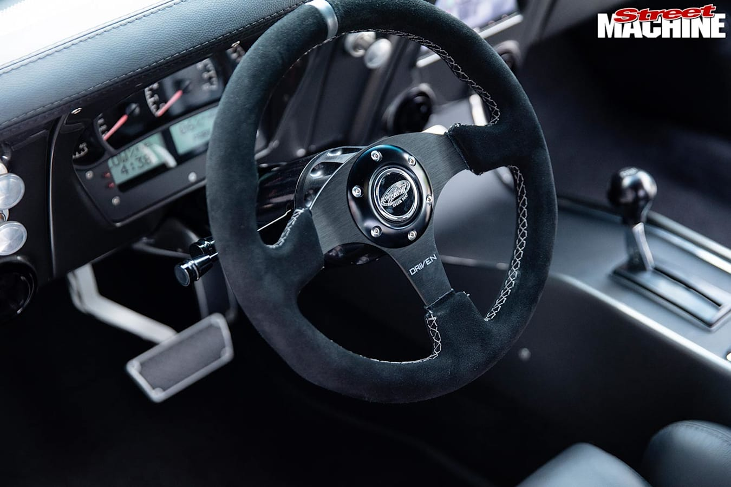 Chev Camaro steering wheel