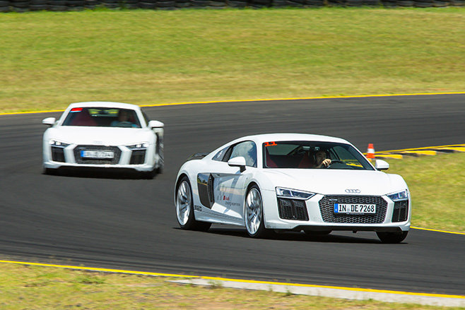 Audi -R8-driving -side -on -track