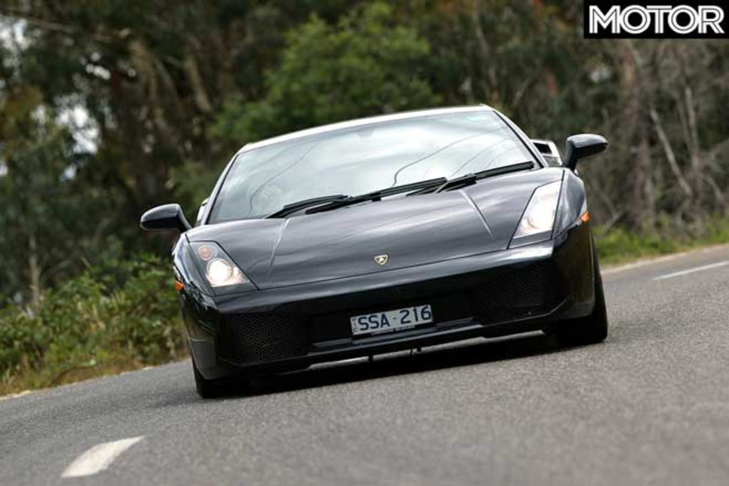 Performance Car Of The Year 2004 Introduction Lamborghini Gallardo Road Jpg