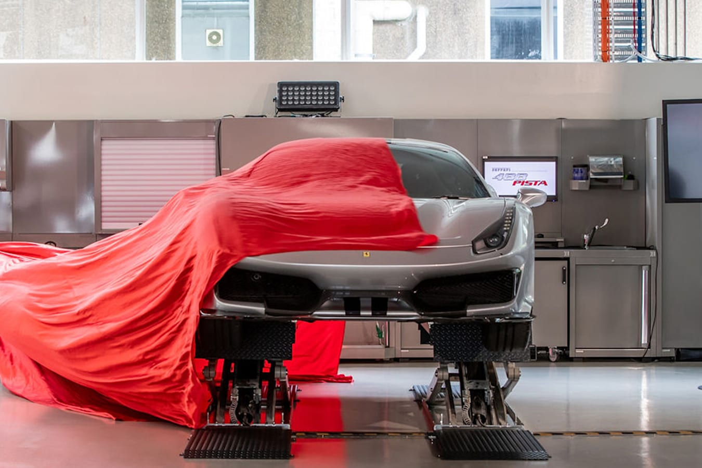 Ferrari 488 Pista Reveal Jpg