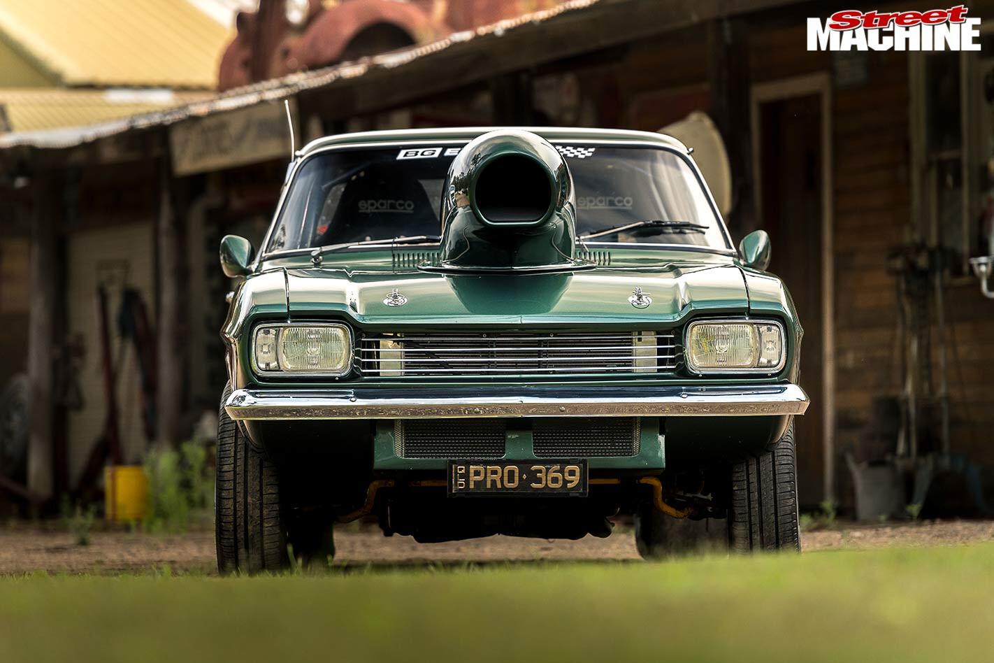 Alon Vella's Ford Capri front