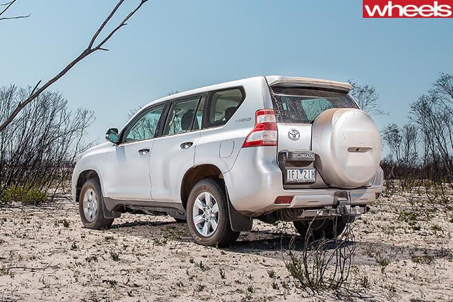 Toyota -Prado -rear