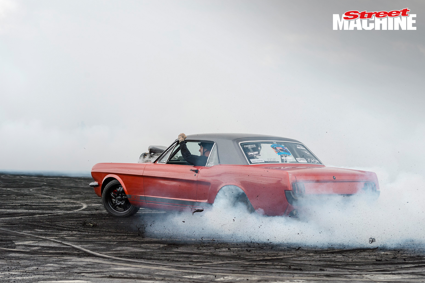 Ford Mustang Burnout SICKO